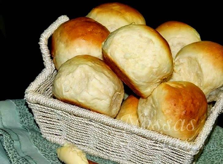 Receita de pão fofinho couvert
