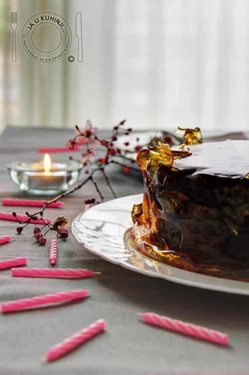 Čokoladna grilijaš torta