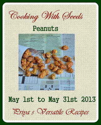 Announcing Cooking with Seeds-Peanuts