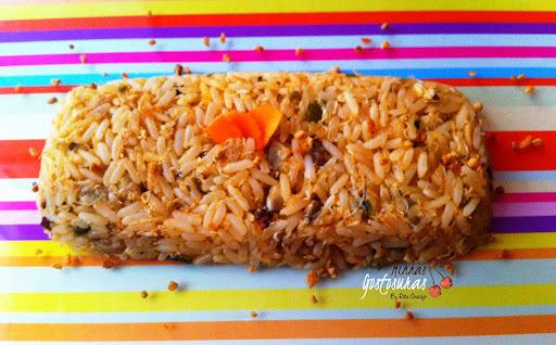 sopa de siri com arroz
