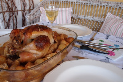 Pečené kurča s plnkou