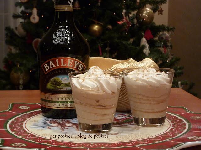 Copes de Mascarpone, Cafè i Baileys ... i BON ANY NOU 2012!!!
