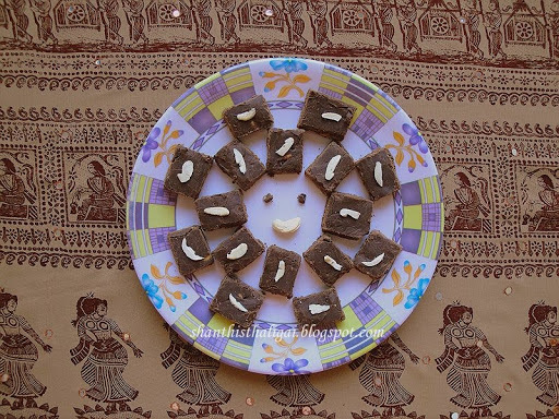 CHOCOLATE BURFI & A CELEBRATION