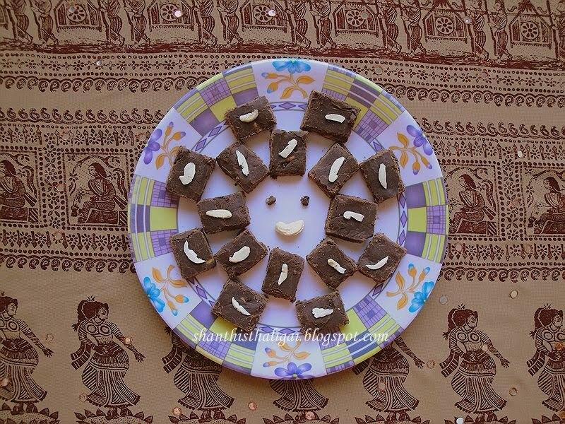 CHOCOLATE BURFI & A CELEBRATION