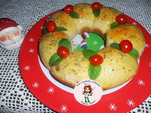 pratos natalinos com carne cha de dentro