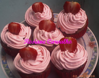 Cupcakes de Chocolate com cereal Nutry de Banana