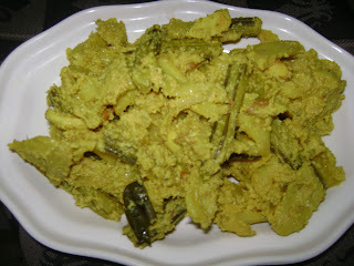 Raw jackfruit aviyal/chakka aviyal (Maami's corner)