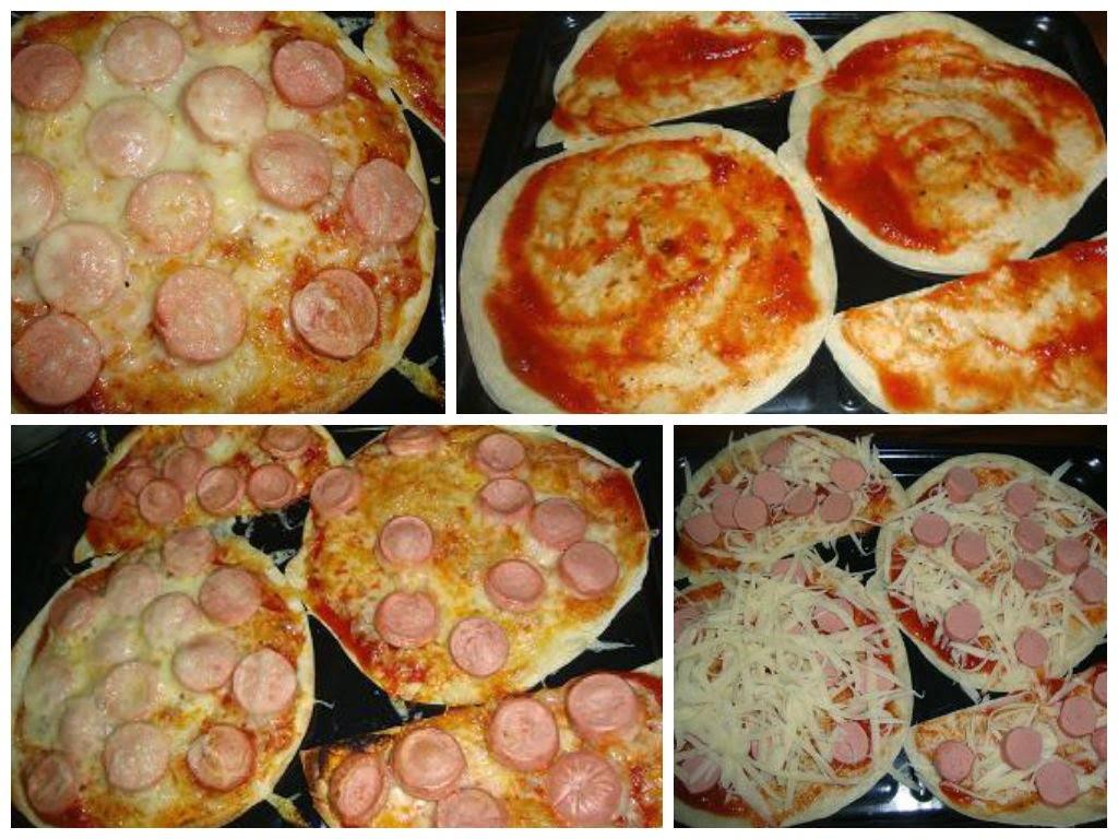 Pizza Extra delgada (Tortilla de Harina)