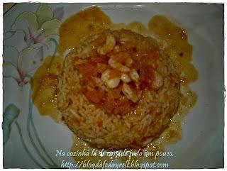 qual prato pode acompanhar arroz de camarao