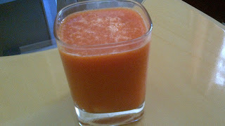 Vitamina de Mamão com Cenoura e Limão
