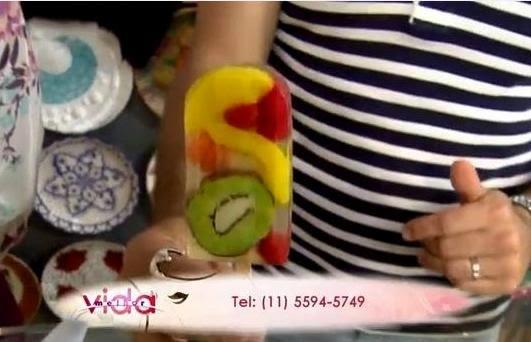 Vamos fazer sabonetes em forma de picolés de frutas e esferas para banho!