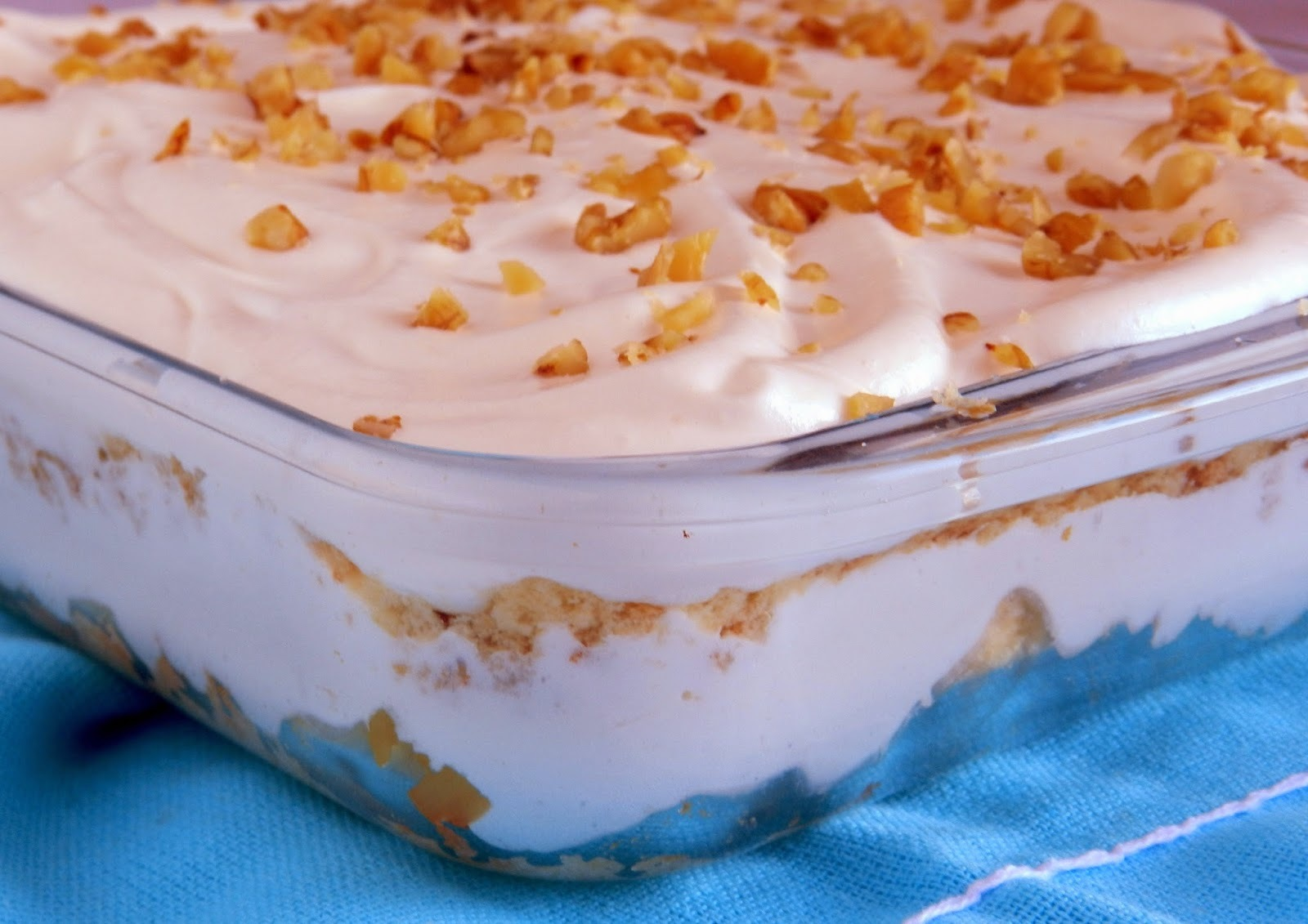 Torta de abacaxi de 3 ingredientes