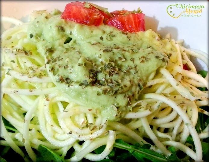 Spaghetti Raw de Verano