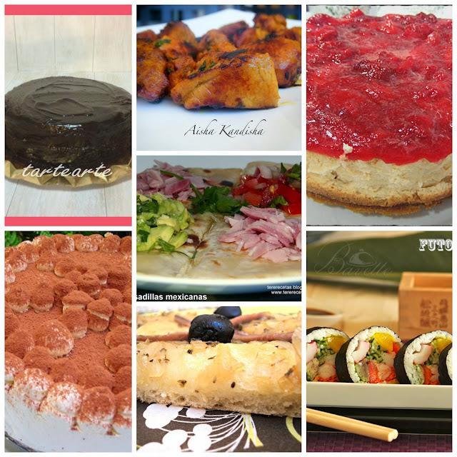 Siete recetas de otros mundos que han hecho mis delicias