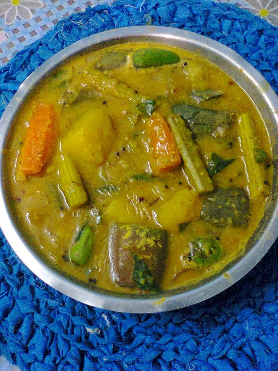 Sambar Dal In Bengali Style