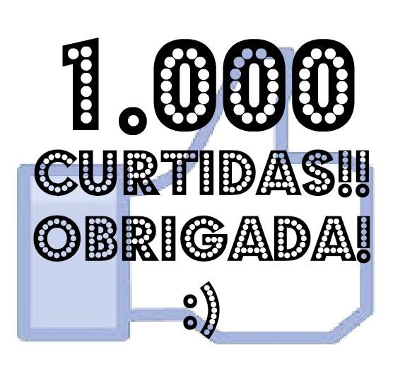 1.000 Curtir - Facebook