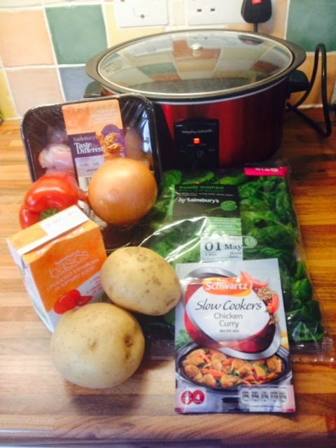 Schwartz Chicken Curry Recipe Mix for Slow Cookers