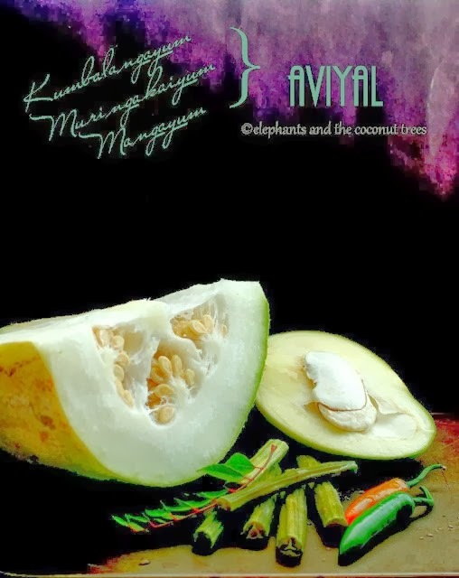 Ashgourd Avial-A guest post by Meena Kumar