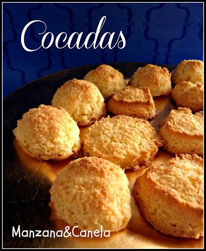 Cocadas (o coquitos): Bolitas de coco