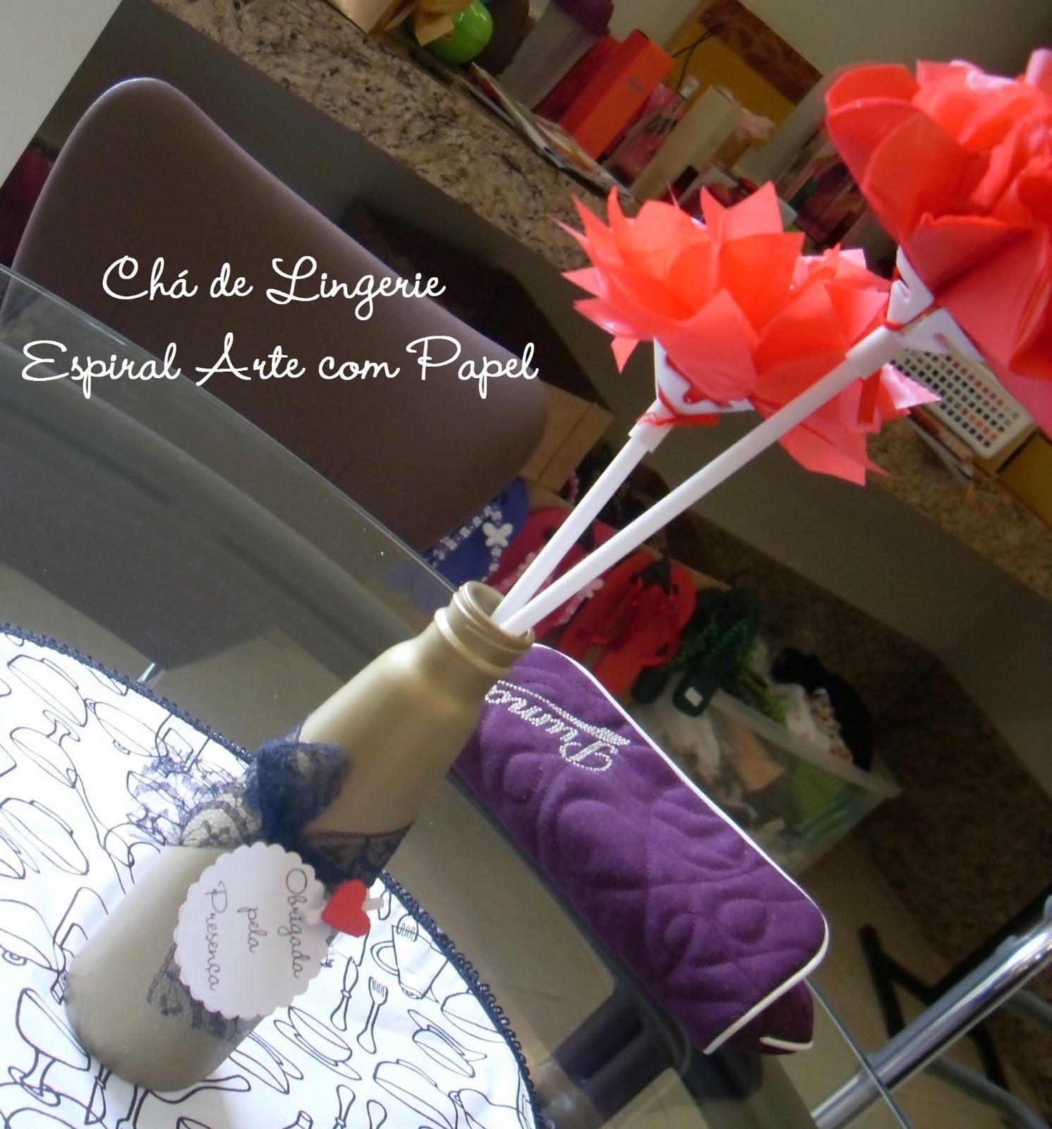 Ideias para decorar o seu Chá de Lingerie