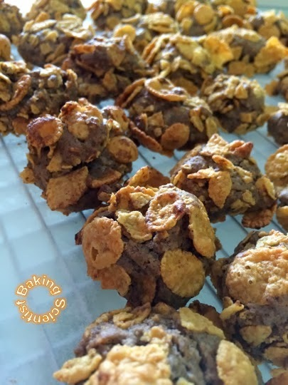 Cornflakes Cookies with a little twist