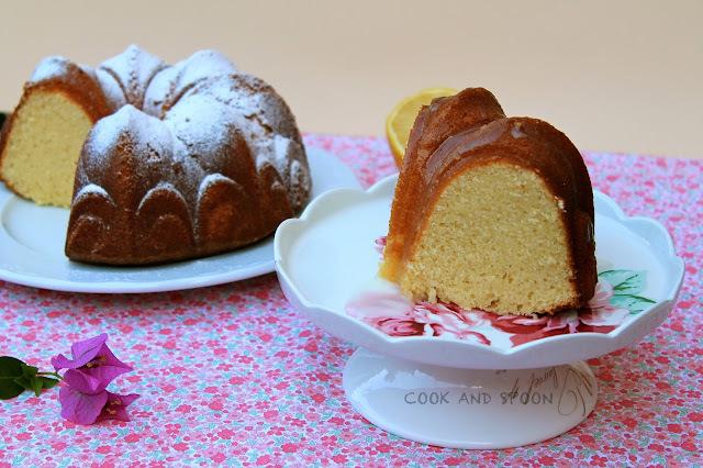 BUNDT CAKE DE CRÈME FRAICHE Y LIMÓN