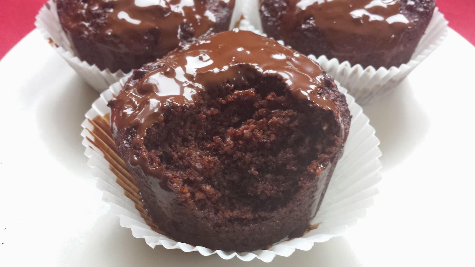 Paleo csokis muffin (tej és tojásmentes, gluténmentes)
