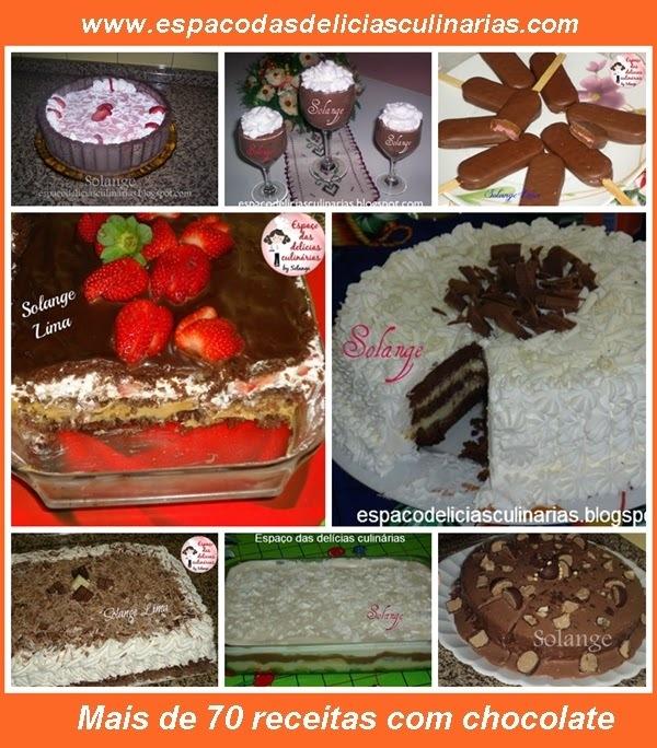 de bolo de chocolate com recheio de trufa e cobertura de bis branco