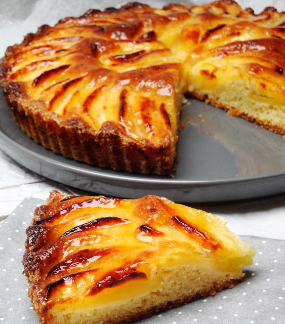 tarte pommes sans compote