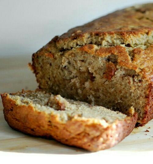 Pan integral de banana y avena