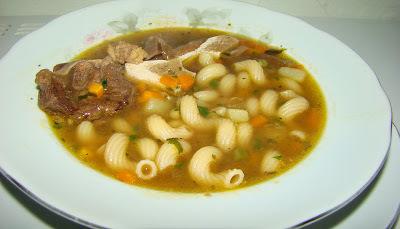 Sopa de Ossobuco Com Legumes