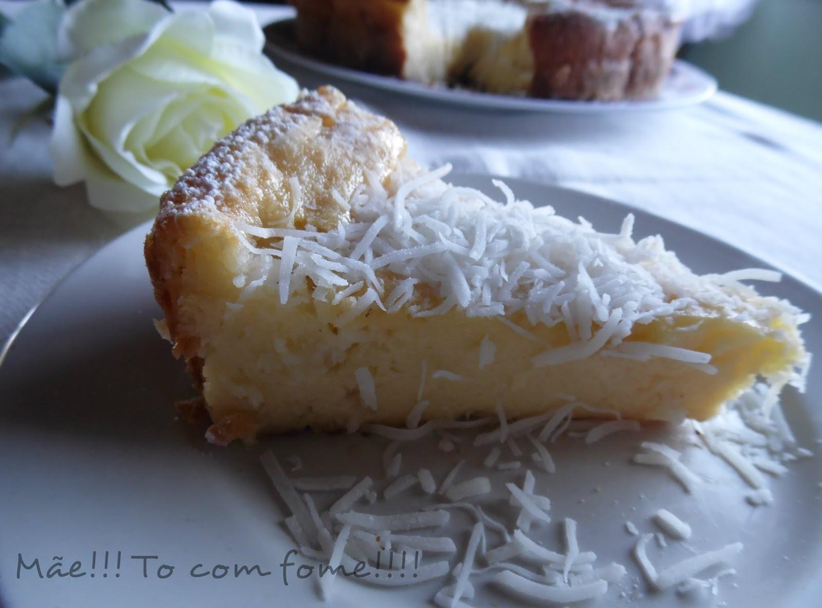 bolo de mandioca de liquidificador com leite condensado e queijo ralado