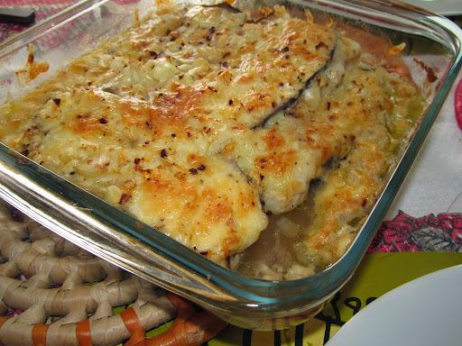 peixe no grill