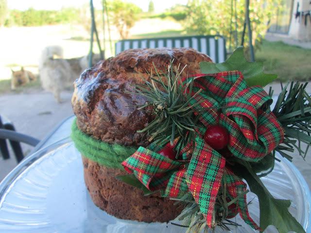 Christmas fruit Cake (Pan de Pascua de mi mamá)