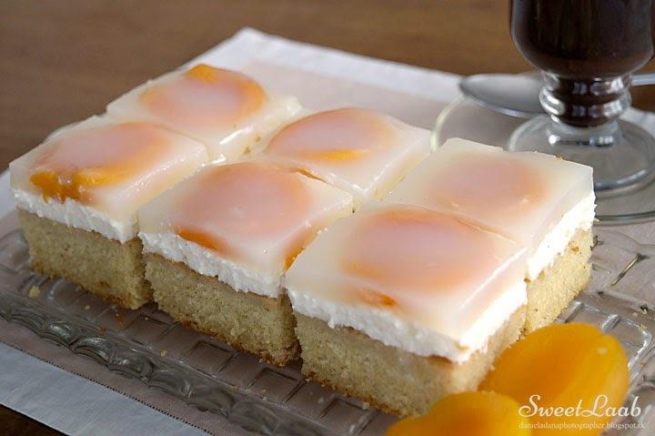 Apricot skinny cake / Marhuľový fitness zákusok / Gâteau léger aux abricots