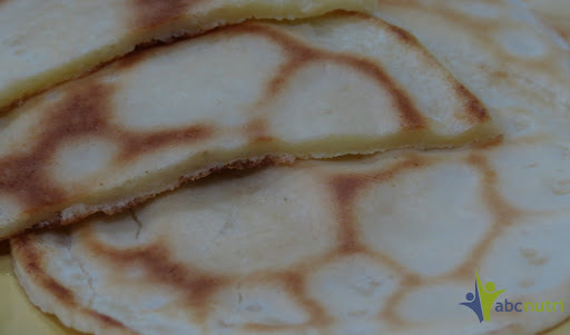 Panqueca de pão de queijo (sem glúten)