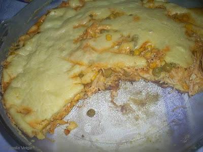 Torta Rápida de Frango