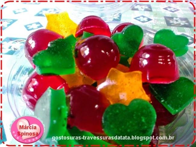 Balinhas de gelatina, de Márcia Spinosa