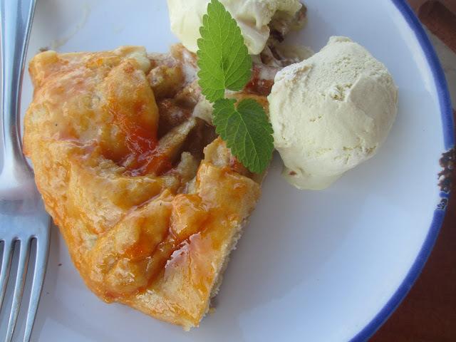 Simple apple galette