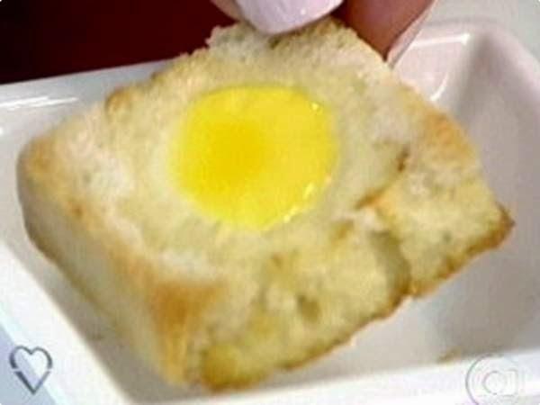 Pão com Ovo de Codorna