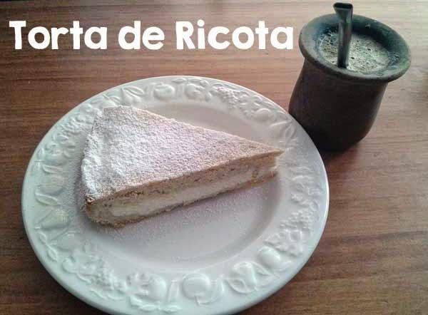 Receta de Torta de Ricota • Tarta de Requesón estilo Argentino