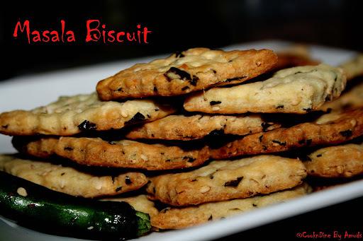 Masala Biscuits (Eggless)(Karam)
