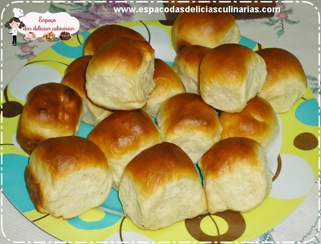 Pãozinho doce caseiro