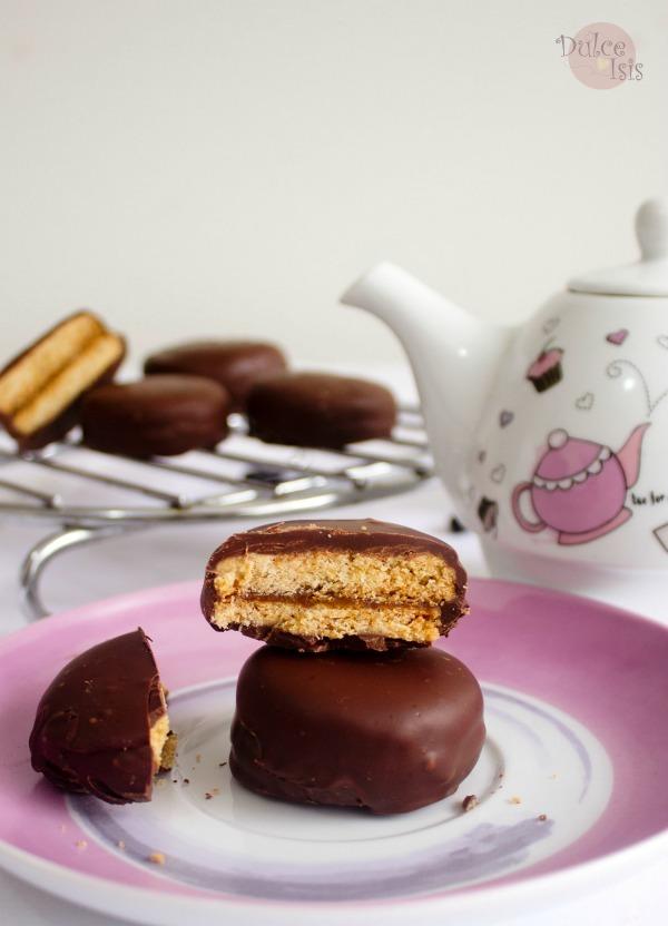 Alfajores Bañados en Chocolate