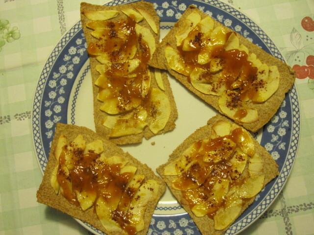 Folhadinhos doce de pão chapati (vegana)