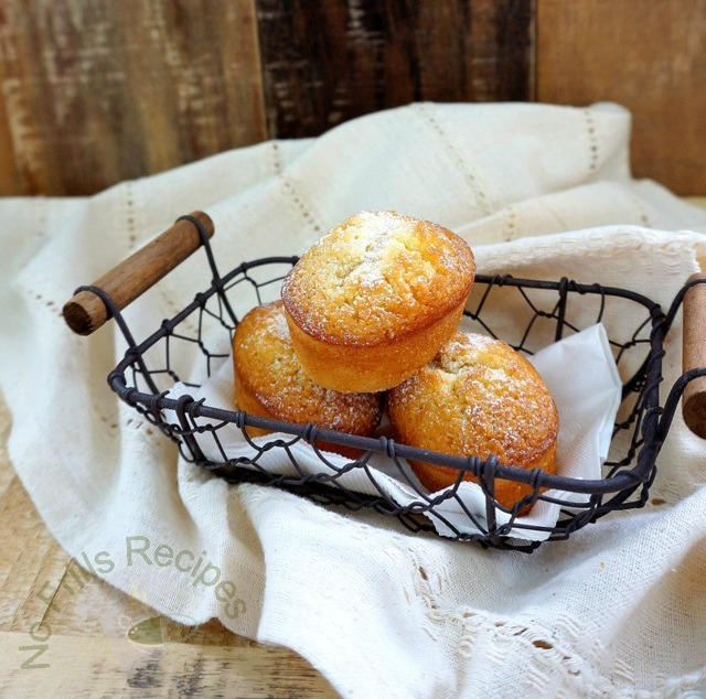 Lemony Prune Friands