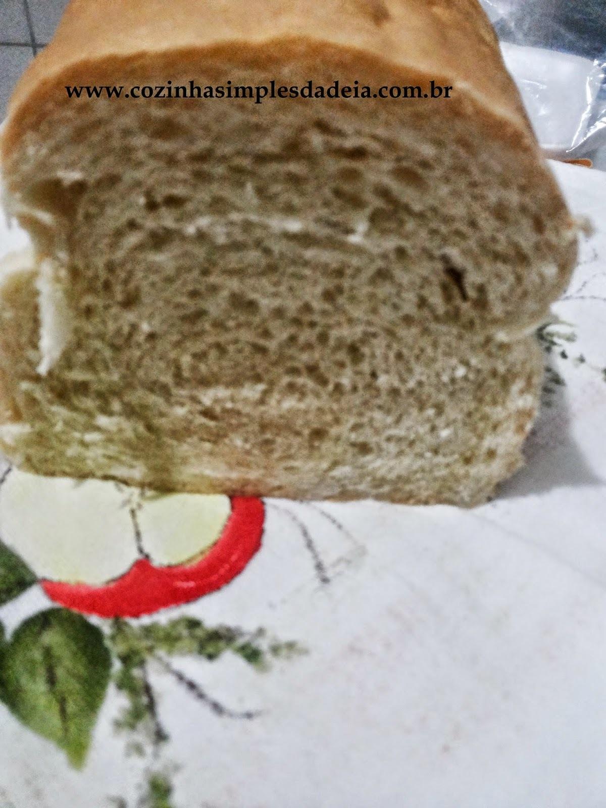 Pão simples Caseiro