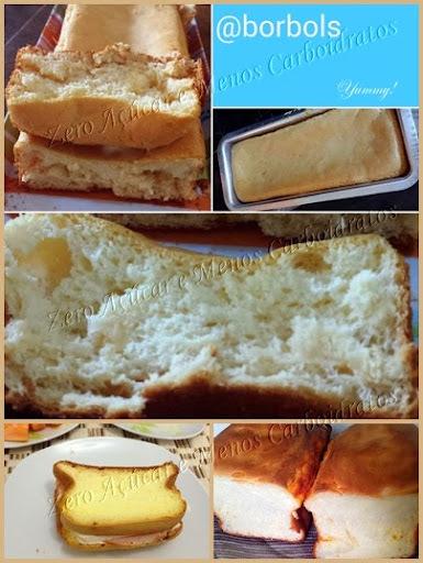 Pão de Leite Dukan sem farinha low carb