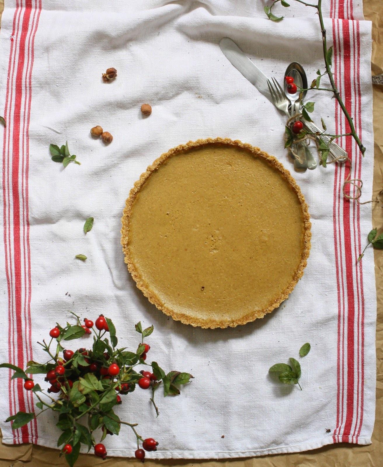 Delicate Pumpkin Pie. Jemnučký tekvicový koláč.