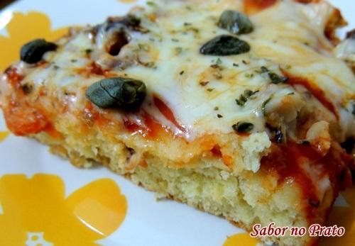 Torta de Sardinha com Alcaparras